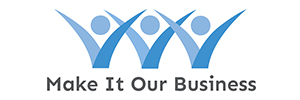make it our business logo