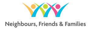 neighbours friends and families logo